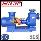 Pompe à eau auto-amorçante chimique centrifuge d'eaux d'égout actionnées par moteur électrique