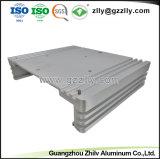 Auto Parte disipador térmico extrusión de aluminio