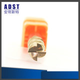 Резец Coated каннелюр карбида вольфрама 4 олова филируя