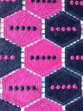 숙녀의를 위한 Garment 새로운 공상 디자인 두 배 색깔 자수 폴리에스테 레이스 직물