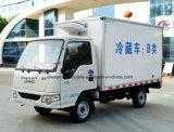 корабль холодильника 4X2 JAC малый 3 тонны тележки замораживателя