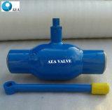 Шариковый клапан Bw стали углерода сваренный концом для природного газа