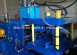 機械(C60-200mm)を形作る調節Cの母屋ロール