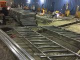カスタマイズされるによる鉄骨構造のメンバーの金属の手すりの製造