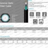 Glmxty/Glxtbw/Glxtwの屋内か屋外の溝の視覚のファイバーケーブル