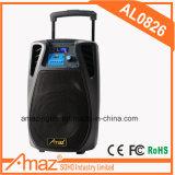 Altavoz portátil de gran potencia con tecnología inalámbrica Bluetooth Karaoke Mic Venta caliente 8 pulg.