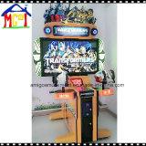 El juego de arcade transformadores de la máquina de monedas de 42 pulgadas de disparo de pistola