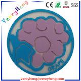 Sottobicchiere di gomma su ordinazione del PVC del sottobicchiere della tazza del sottobicchiere per il regalo promozionale
