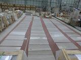中国白いSerpenggianteの材木の白の大理石