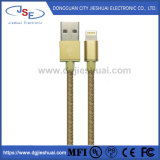 iPhone를 위한 USB Cable에 Mfi Certified Leather Charge & Sync Cable Lightning