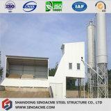 Entrepôt léger galvanisé par fournisseur de structure métallique de la Chine pour l'usine d'usine