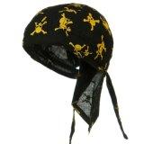 Chapéu impresso costume do pirata do poliéster
