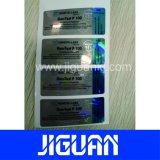 Personalizado de alta calidad resistente al agua 10ml frasco de esteroides del holograma etiqueta