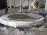 GRP FRP水平タンク生産ライン巻上げ機械