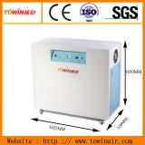 El laboratorio y Hostipal Oil-Free silencioso compresor de aire con armario (TW7503S)