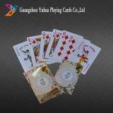 Custom Design 100% PVC Cartões de jogo Poker Plastic Poker