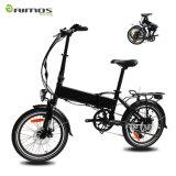 Vélo électrique pliable de l'AMS 350W 20 '' avec la batterie 13.2 de Samsung