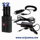 Jammer selecionável de Lojack do telefone móvel do Portable 3G & jammer do sinal de Gpsl1 Gpsl2 Gpsl5