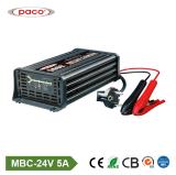 De automatische het Laden Lader van de Batterij van de Lader van de Bescherming 24V 05A