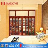 Porte coulissante en verre indienne de modèle moderne de Chambre de fournisseurs de la Chine