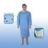 Дешевая Nonwoven медицинская стерильная устранимая хирургическая мантия