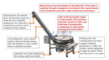 Runde Rohr-Schrauben-Hebevorrichtung-Schwingung für Puder-Verpackung (JAT-U230)
