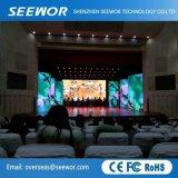 P2.5 de alto contraste de pantalla LED de color para interiores fase alquiler