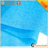 Azul no tejido del lago Rolls No. 22 del papel de embalaje de regalo de la flor de los PP