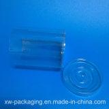 Прозрачная пластичная круглая коробка