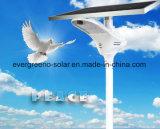 Iluminação ao ar livre solar Integrated da luz de rua do diodo emissor de luz