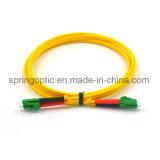 LC/APC LC/APC Duplexfaser-zu den optischen Steckschnüre