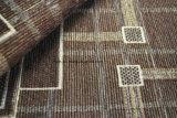 Muster-Sofa-Gewebe Brown-Gemotric (FTH31200)