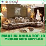 Base di sofà sezionale di Loveseat del tessuto classico di lusso della mobilia
