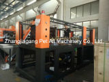 Полуавтоматическая 4 гнезд для выдувания расширительного бачка для машины пластик может