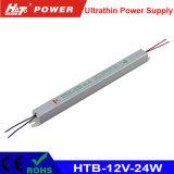 alimentazione elettrica ultra sottile di 12V 24W LED per la casella chiara