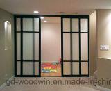 Puerta deslizante de aluminio del aislante de calor de Woodwin (YS-120)