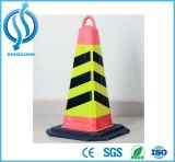 cone da segurança de EVA do cone do tráfego de 70cm EVA