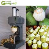 [جك] آليّة شابّ خضراء ماس شكل جوز هند تقشير [بيلر] آلة