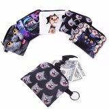 جديد [بو] جلد قطّ عملة محفظة جذّابة جدي رسم متحرّك محفظة [كويي] حقيبة عملة كيس أطفال محفظة حامل نساء عملة محفظة
