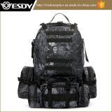 Тактические напольные спорты взбираясь чернота Backpack штурма мешка многофункциональная