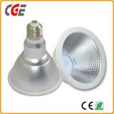 IP65 impermeável 3000K, 4000K COB PAR38 à prova de lâmpada LED COB baixar as lâmpadas LED lâmpadas LED