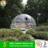 Invernadero estabilizado ULTRAVIOLETA de la bóveda del jardín de la alta calidad