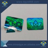 Hologramme 3D'autocollants de sécurité de l'impression des étiquettes de lutte contre la contrefaçon