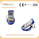 휴대용 다중채널 온도계 공급자 (AT4208)