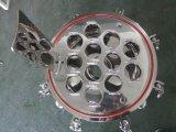 Patroon In drie stadia van de Filter van het roestvrij staal de Vouwende