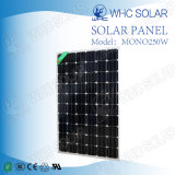 Mono comitato solare di alta efficienza 250W per il sistema di Soalr