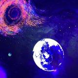Indicatore luminoso nero della discoteca delle lampade per il randello scuro di Halloween del partito di Fluroscent della fase di effetto