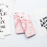 2017 caisse neuve de téléphone du marbre TPU de modèle pour l'iPhone 6/7/8