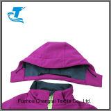 두건이 있는 겨울 스포츠용 잠바 양털에 의하여 일렬로 세워지는 Softshell 재킷