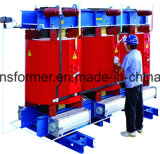 三相乾式の電源の変圧器